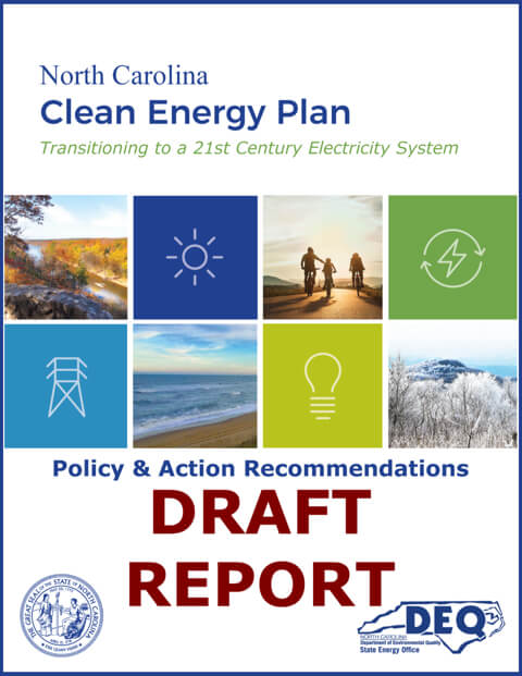 NCDEQ Clean Energy Plan Draft Report