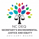 NCDEQ EJEA Board to Discuss Executive Order 143 at August 24 Meeting
