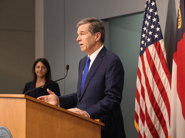 Governor Cooper and DHHS Secretary Mandy Cohen • Photo governor coopers twitter